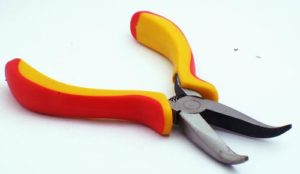 Bent Chainnose Beading Pliers