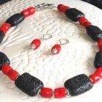 Lava & Coral Bracelet