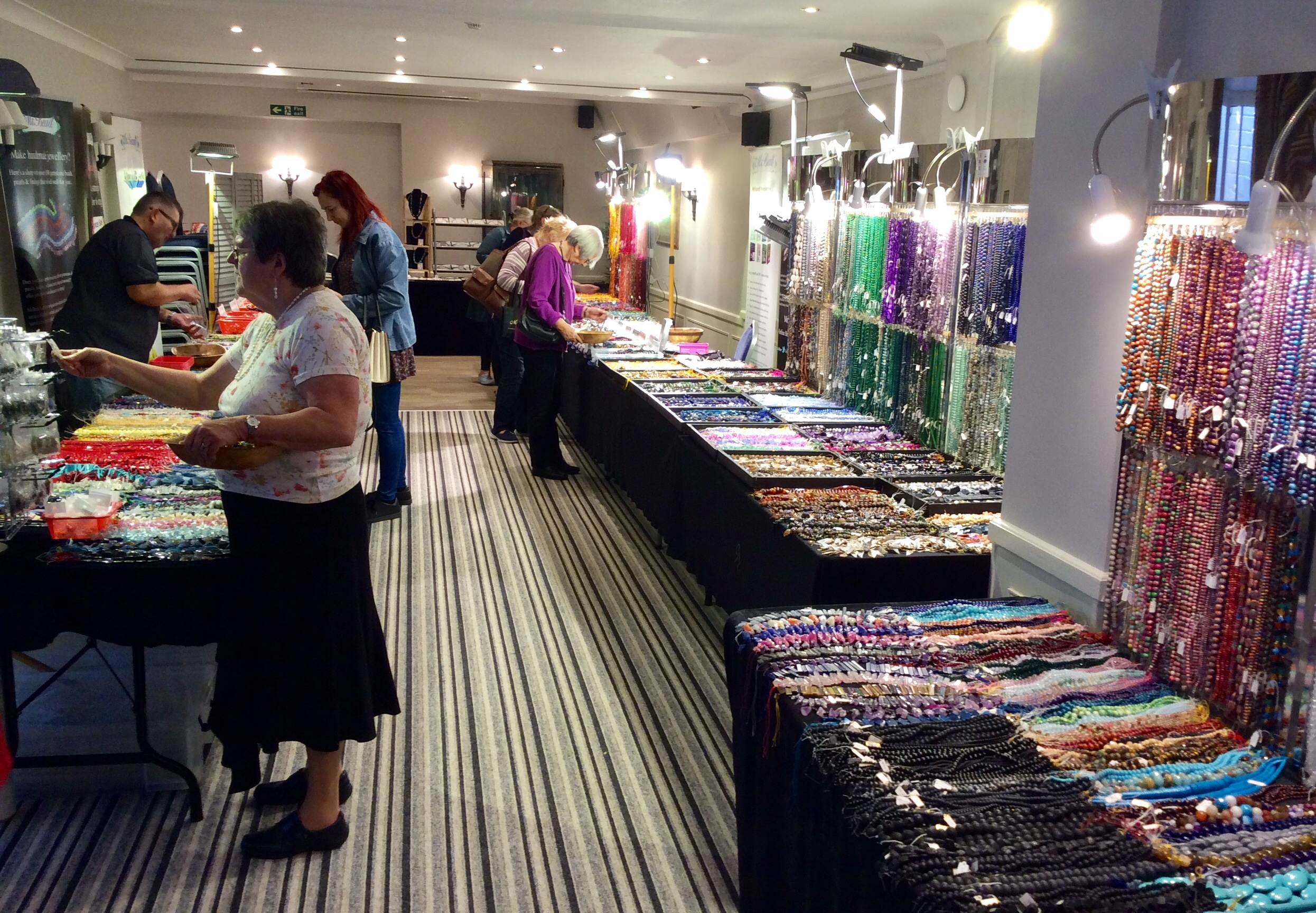 Norwich Bead Show: October 2018