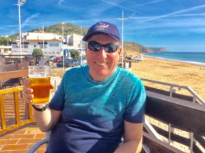 Nigel in the Algarve