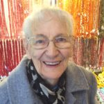 Nigel's Mum at Luton Bead Fair