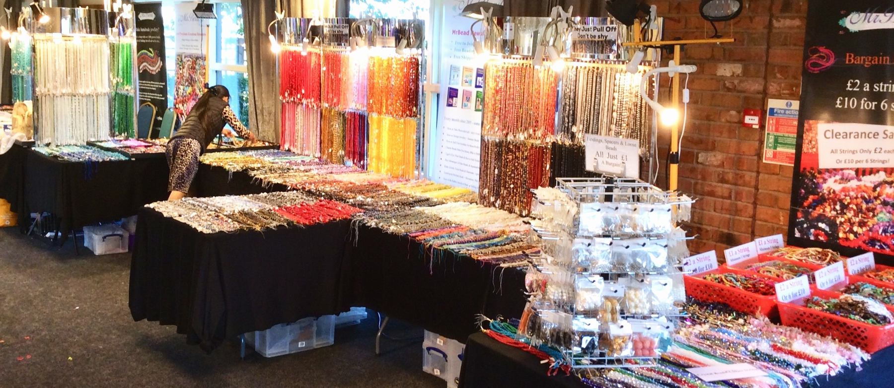Newark Gem n Bead Fair 2019
