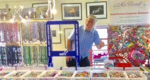 Nigel at Cornish Bead Fair