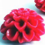 Acrylic Plastic Rose Bead
