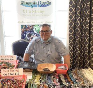 Peter At Norwich Bead Fair 2021