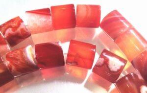Carnelain Beads