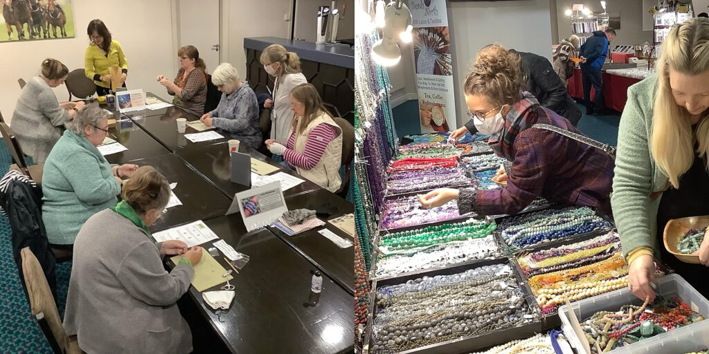 Beads Up North With Lace & Textiles 2021